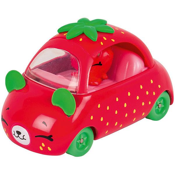 Игровой набор Moose Cutie Car Машинка с мини-фигуркой Shopkins, Strawberry Speedy SeedsКоллекционные фигурки<br>Характеристики:<br><br>• возраст: от 5 лет;<br>• материал: пластик;<br>• в наборе: 1 машинка Cutie Car, фигурка водителя мини-Shopkins, брошюра коллекционера;<br>• вес упаковки: 90 гр.;<br>• размер упаковки: 16х4,5х10,5 см;<br>• страна бренда: Австралия.<br><br>Набор из коллекции Shopkins Cutie Car от бренда Moose создан специально для девочек. Серия включает миловидные машинки в виде забавных животных, фруктов и десертов. К ним прилагаются соответствующие по дизайну фигурки Shopkins.<br><br>В этой линейке представлены кабриолеты, багги и внедорожники с откидной крышей, а также фургончики со сладостями. Собрав всю коллекцию, ребенок сможет устраивать заезды, придумывать сюжетные игры. Колеса игрушки подвижны. Выполнено из качественных безопасных материалов.<br><br>Машинку Cutie Car с мини-фигуркой Shopkins S1 в блистере в асс. можно купить в нашем интернет-магазине.<br>Ширина мм: 160; Глубина мм: 45; Высота мм: 105; Вес г: 90; Цвет: розовый; Возраст от месяцев: 60; Возраст до месяцев: 2147483647; Пол: Женский; Возраст: Детский; SKU: 7979626;