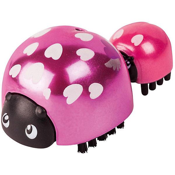 Купить Интерактивная игрушка Moose Little Live Pets Божья коровка и малыш, Сердечко, Китай, розовый, Унисекс