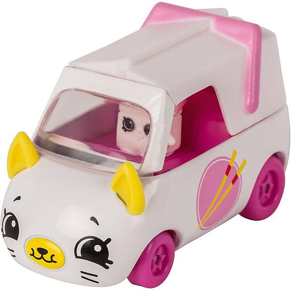 Купить Игровой набор Moose Cutie Car Машинка с мини-фигуркой Shopkins, Zoomy Noodless, Китай, белый, Женский