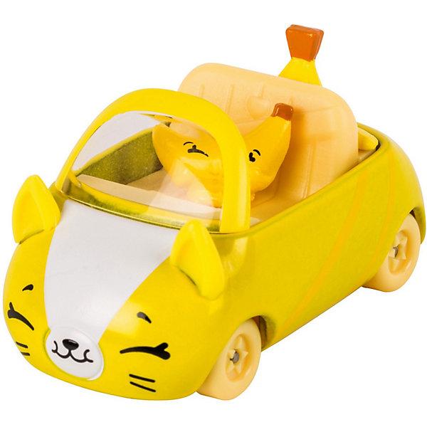 Купить Игровой набор Moose Cutie Car Машинка с мини-фигуркой Shopkins, Banana Bumper, Китай, желтый, Женский