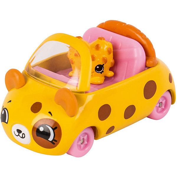 Купить Игровой набор Moose Cutie Car Машинка с мини-фигуркой Shopkins, Choc Chip Racer, Китай, желтый, Женский
