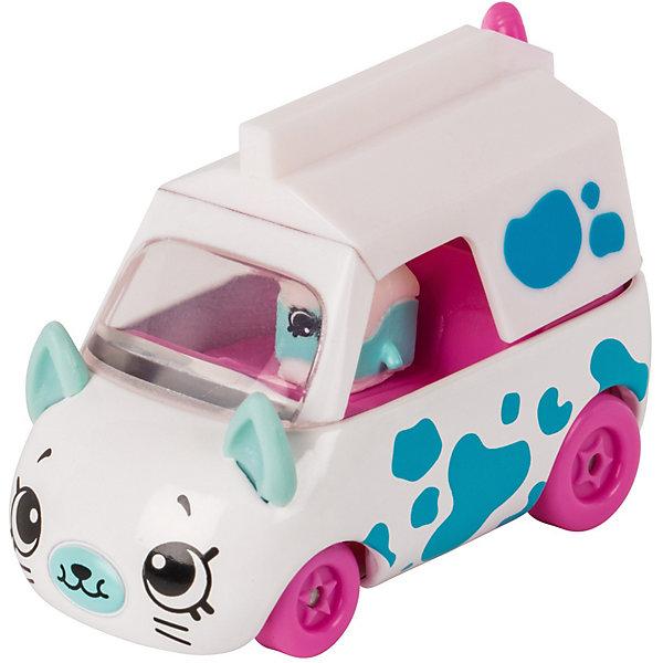 Купить Игровой набор Moose Cutie Car Машинка с мини-фигуркой Shopkins, Milk Moover, Китай, белый, Женский