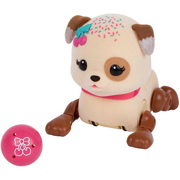 Интерактивный щенок Moose Little Live Pets Вишенка с мячикомИнтерактивные животные<br>Характеристики:<br><br>• возраст: от 5 лет;<br>• материал: пластик, магнит, флок;<br>• в наборе: щенок, игрушка;<br>• тип батареек: 3хAG13;<br>• наличие батареек: в комплекте;<br>• вес упаковки: 190 гр.;<br>• размер упаковки: 8х22х17 см;<br>• страна бренда: Австралия.<br><br>Интерактивный щенок Moose Little Live Pets с мячиком умеет бегать, стоять на задних лапках, когда просит мячик и гавкать во время прикосновений к нему. После веселых игр песик уснет, а чтобы его разбудить, достаточно потрогать его хвостик.<br><br>Мячик можно прикрепить к груди игрушки на магнит. Пластиковая собачка отделана флоком, приятная на ощупь, выполнена в ярких цветах. Сделано из безопасных материалов.<br><br>Щенка с мячиком «Вишенка» можно купить в нашем интернет-магазине.<br>Ширина мм: 81; Глубина мм: 220; Высота мм: 170; Вес г: 190; Цвет: коричневый; Возраст от месяцев: 60; Возраст до месяцев: 2147483647; Пол: Унисекс; Возраст: Детский; SKU: 7979738;