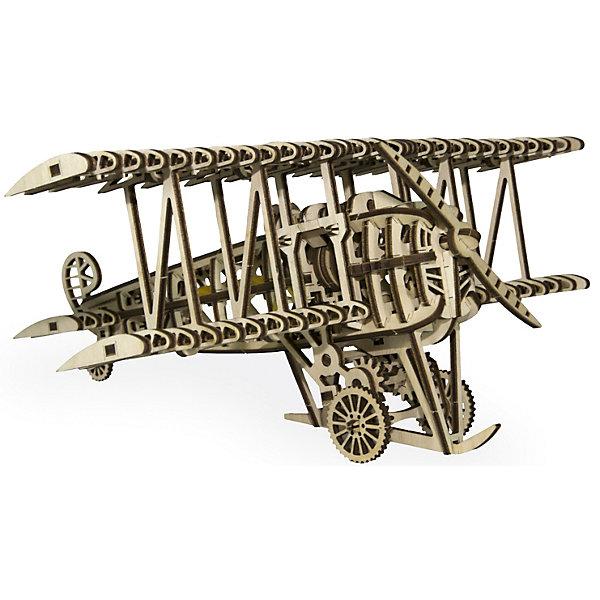 Сборная модель Wood Trick СамолетДеревянные модели<br>Характеристики:<br><br>• возраст: от 14 лет;<br>• материал: дерево;<br>• количество деталей: 148;<br>• вес упаковки: 600 гр.;<br>• размер упаковки: 37х18х3 см;<br>• страна производитель: Украина.<br><br> Соберите модель самолёта вместе с вашим ребенком, и вполне вероятно, что у него проснётся интерес к авиамоделированию или к аэрокосмической технике. Может быть, именно ваш ребенок будет тем, кто разработает технологию, которая откроет человечеству путь к новым горизонтам!<br><br>Изделие выполнено из гладкой березовой фанеры, не имеющей заусенцев, поэтому удобно для покраски и безопасно для сборки.<br><br>Сборная модель Wood Trick Самолет можно купить в нашем интернет-магазине.<br>Ширина мм: 370; Глубина мм: 185; Высота мм: 35; Вес г: 800; Цвет: бежевый; Возраст от месяцев: 168; Возраст до месяцев: 1188; Пол: Унисекс; Возраст: Детский; SKU: 7980848;