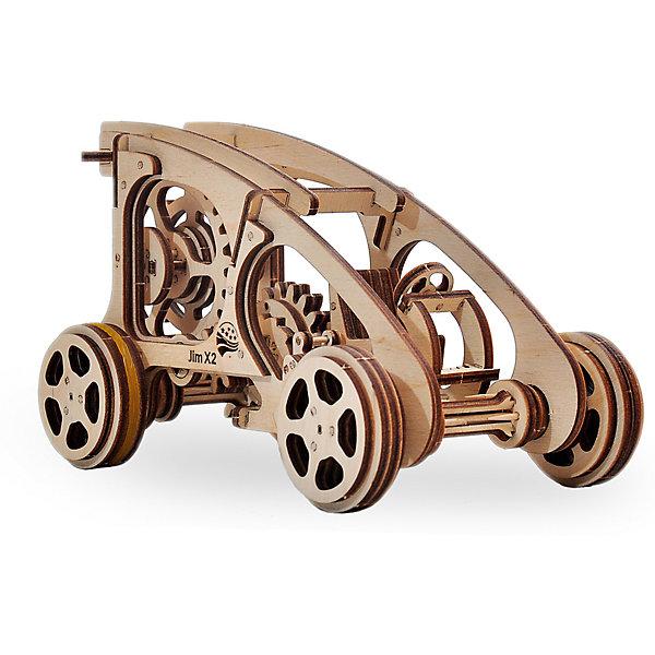 Сборная модель Wood Trick БаггиДеревянные модели<br>Характеристики:<br><br>• возраст: от 14 лет;<br>• материал: дерево;<br>• количество деталей: 144;<br>• вес упаковки: 800 гр.;<br>• размер упаковки: 37х18х3 см;<br>• страна производитель: Украина.<br><br>Собрать набор «Багги» сложно только на первый взгляд, однако с этим справится как взрослый, так и ребенок, тем более, что к набору прилагается простая и понятная инструкция. Внимательно ознакомьтесь с инструкцией по сборке, и вы сможете легко собрать собственную модель багги!<br><br>Изделие выполнено из гладкой березовой фанеры, не имеющей заусенцев, поэтому удобно для покраски и безопасно для сборки.<br><br>Сборная модель Wood Trick Багги  можно купить в нашем интернет-магазине.<br>Ширина мм: 370; Глубина мм: 185; Высота мм: 35; Вес г: 800; Цвет: бежевый; Возраст от месяцев: 168; Возраст до месяцев: 1188; Пол: Унисекс; Возраст: Детский; SKU: 7980866;