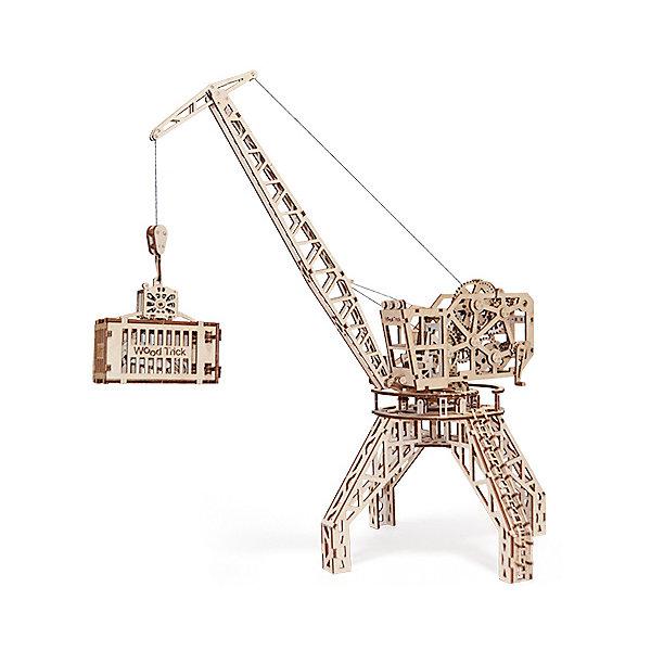 Купить Сборная модель Wood Trick Кран , Украина, бежевый, Унисекс