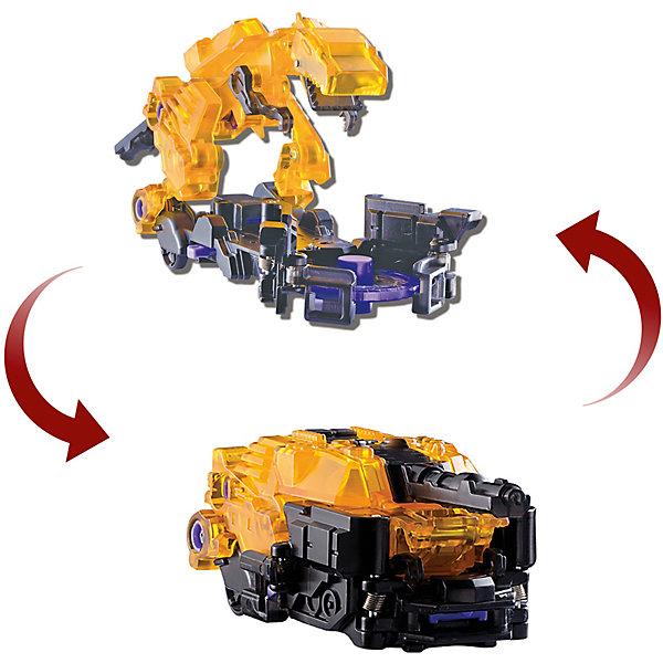 Машинка-трансформер Дикие Скричеры Ви-Рекс л2Трансформеры-игрушки<br>Характеристики:<br><br>• возраст: от 3 лет;<br>• материал: пластик;<br>• цвет: желтый;<br>• вес: 210 гр;<br>• размер: 22,7х19,5х7 см;<br>• страна бренда: Китай;<br>• бренд: Screechers Wild.<br><br>Машинка-трансформер Screechers Wild  «Ви-Рекс л2» -  единственная в своем роде игрушка. Она превращается в зверя, переворачиваясь в воздухе на 360! Машинка разгоняется, ловит специальный диск, делает кувырок и самостоятельно трансформируется в животное прямо в воздухе. Обратно в машинку игрушка собирается вручную. Несколько движений - и она опять готова к новому кувырку.<br><br>Машинка-трансформер обладает прочной конструкцией с надежными креплениями и выполнена из высококачественного материала. В набор входит машинка-трансформер (9х5х6 см) и 3 магнитных диска диаметром 3 см. Игрушка упакована в блистер (19.5х7х23 см).<br><br>Всего в линейке Скричеров представлено 16 машинок, каждая из которых является отдельным персонажем. Машинки могут превращаться в животных, птиц, динозавров или рептилий. Самое время начать собирать всю коллекцию Скричеров!<br><br>Машинку-трансформер Screechers Wild  «Ви-Рекс л2» можно купить в нашем интернет-магазине.<br>Ширина мм: 227; Глубина мм: 195; Высота мм: 70; Вес г: 210; Возраст от месяцев: 36; Возраст до месяцев: 120; Пол: Мужской; Возраст: Детский; SKU: 7981309;