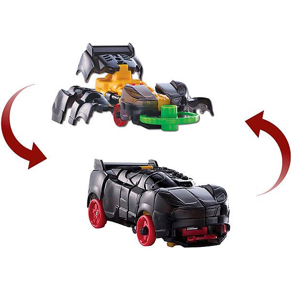 Машинка-трансформер Screechers Wild  Найтвивер л1Трансформеры-игрушки<br>Машинка-трансформер Дикий скричер - единственная в своем роде игрушка. Она превращается в зверя, переворачиваясь в воздухе на 360°! Машинка разгоняется, ловит специальный диск, делает кувырок и самостоятельно трансформируется прямо в воздухе. Обратно в машинку игрушка собирается вручную. Несколько движений - и она опять готова к новому кувырку.<br>Машинка-трансформер Скричер Найтвивер обладает прочной конструкцией с надежными креплениями и выполнена из высококачественного материала. В набор входит машинка-трансформер (8х4х3 см) и 2 магнитных диска диаметром 3 см. Игрушка упакована в блистер (16х5х21 см).<br>Всего в линейке Скричеров представлено 16 машинок, каждая из которых является отдельным персонажем. Машинки могут превращаться в животных, птиц, динозавров или рептилий. Самое время собрать всю команду Скричеров!<br>Ширина мм: 205; Глубина мм: 160; Высота мм: 48; Вес г: 140; Возраст от месяцев: 36; Возраст до месяцев: 120; Пол: Мужской; Возраст: Детский; SKU: 7981317;