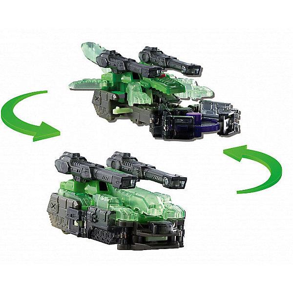 Машинка-трансформер Screechers Wild Крокшок л2Трансформеры-игрушки<br>Характеристики:<br><br>• возраст: от 3 лет;<br>• материал: пластик;<br>• цвет: зеленый;<br>• вес: 210 гр;<br>• размер: 22,7х19,5х7 см;<br>• страна бренда: Китай;<br>• бренд: Screechers Wild.<br><br>Машинка-трансформер Screechers Wild  «Крокшок л2» -  единственная в своем роде игрушка. Она превращается в зверя, переворачиваясь в воздухе на 360! Машинка разгоняется, ловит специальный диск, делает кувырок и самостоятельно трансформируется в животное прямо в воздухе. Обратно в машинку игрушка собирается вручную. Несколько движений - и она опять готова к новому кувырку.<br><br>Машинка-трансформер  обладает прочной конструкцией с надежными креплениями и выполнена из высококачественного материала. В набор входит машинка-трансформер (9х5х6 см) и 3 магнитных диска диаметром 3 см. Игрушка упакована в блистер (19.5х7х23 см).<br><br>Всего в линейке Скричеров представлено 16 машинок, каждая из которых является отдельным персонажем. Машинки могут превращаться в животных, птиц, динозавров или рептилий. Самое время начать собирать всю коллекцию Скричеров!<br><br>Машинку-трансформер Screechers Wild  «Крокшок л2» можно купить в нашем интернет-магазине.<br>Ширина мм: 227; Глубина мм: 195; Высота мм: 70; Вес г: 210; Возраст от месяцев: 36; Возраст до месяцев: 120; Пол: Мужской; Возраст: Детский; SKU: 7981321;