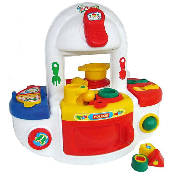 Купить Игровой набор Полесье Кухня , в коробке, Беларусь, желтый, Женский