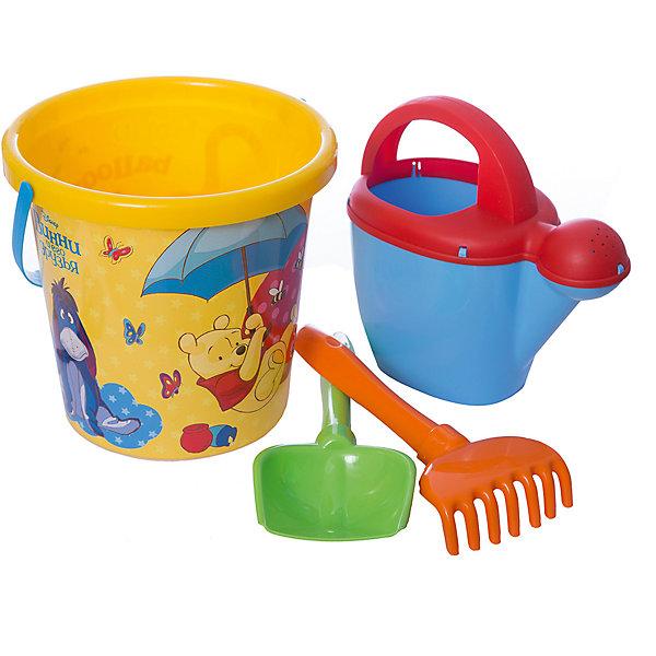 Купить Набор игрушек для песочницы Полесье Disney Винни и его друзья» № 9, 4 предмета, Беларусь, разноцветный, Унисекс