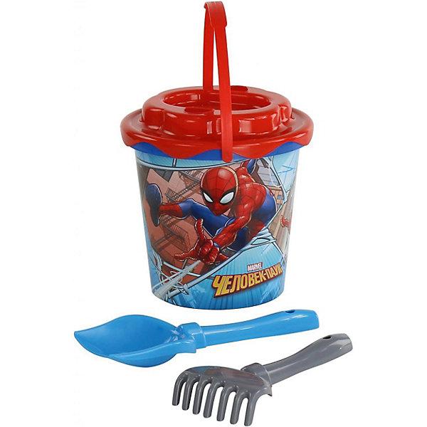 Купить Набор игрушек для песочницы Полесье Marvel Человек-Паук № 11, 4 предмета, Беларусь, разноцветный, Мужской