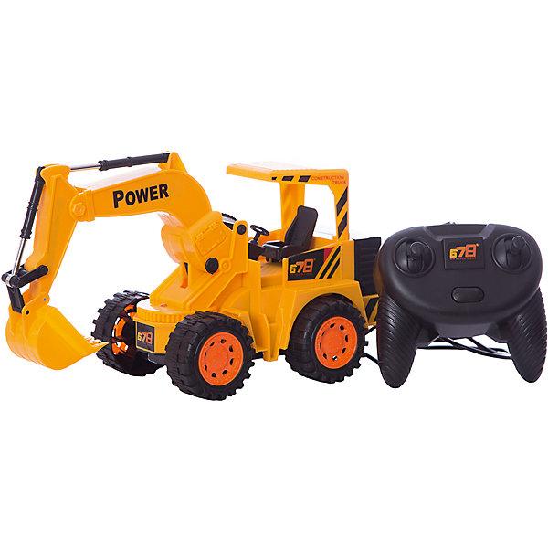Проводной экскаватор Fun Toy с джойстикомРадиоуправляемые машины<br>Характеристики:<br><br>• возраст: от 3 лет;<br>• материал: пластик, металл;<br>• цвет: желтый;<br>• тип батареек: 4хАА;<br>• наличие батареек: не входят в комплект;<br>• вес: 680 гр;<br>• размер: 30х10х30 см;<br>• страна бренда: Китай;<br>• бренд: Fun Toy.<br><br>Проводной экскаватор Fun Toy с джойстиком на дистанционном управлении со световыми эффектами понравится любому мальчишке. Он выполнен из прочного яркого пластика и оснащен подвижной стрелой с ковшом. Управляемый пультом, экскаватор движется вперед, назад, поворачивает налево и направо. Пульт присоединен к машине с помощью провода; движение экскаватора осуществляется только на расстояние, равное длине провода. <br><br>Проводной экскаватор Fun Toy с джойстиком можно купить в нашем интернет-магазине.<br>Ширина мм: 300; Глубина мм: 100; Высота мм: 300; Вес г: 680; Возраст от месяцев: 36; Возраст до месяцев: 2147483647; Пол: Унисекс; Возраст: Детский; SKU: 7994461;