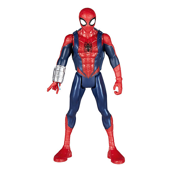 Купить Фигурка Marvel Spider-Man Человек-паук с интерактивным аксессуаром, 15см, Hasbro, Китай, Мужской