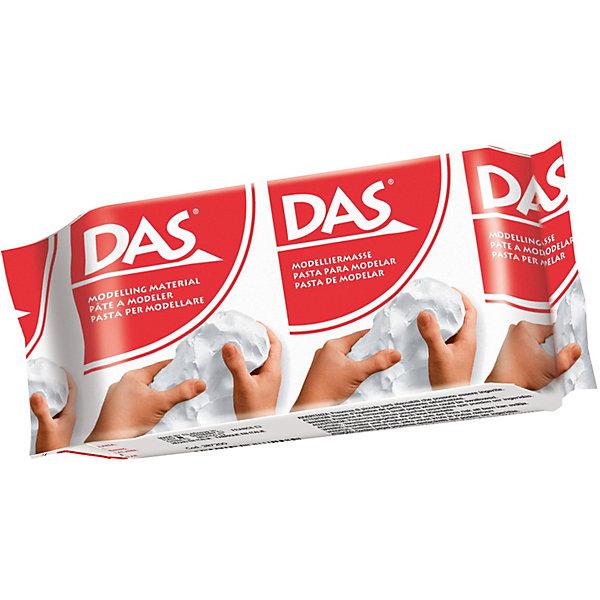 Паста для моделирования DAS белая, 150 грамм, Италия, белый, Унисекс  - купить со скидкой