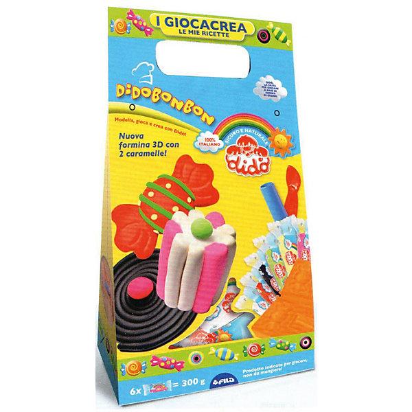 Купить Набор для творчества DIDO с аксессуарами, Италия, разноцветный, Унисекс