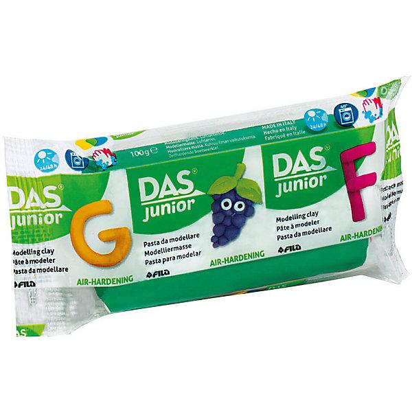 Купить Мягкая масса для моделирования DAS темно-зеленая, 100 грамм, Италия, темно-зеленый, Унисекс