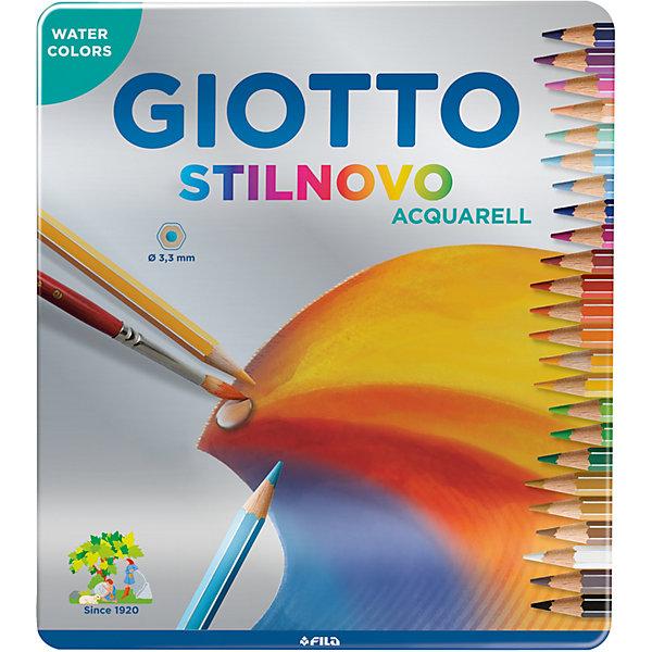 Купить Цветные акварельные карандаши GIOTTO, 24 штук, Китай, разноцветный, Унисекс