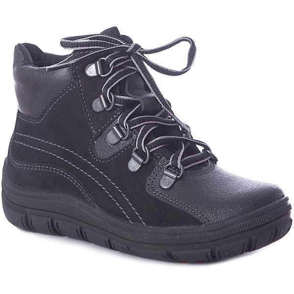 Ботинки Лель для мальчикаБотинки<br>Ботинки Лель для мальчика<br> Фурнитура — шнурки, молния<br><br>Состав: <br>Материал вверха - нубук; Материал подкладки - Тэп; Материал подошвы - Тэп.<br>Ширина мм: 262; Глубина мм: 176; Высота мм: 97; Вес г: 427; Цвет: черный; Возраст от месяцев: 60; Возраст до месяцев: 72; Пол: Мужской; Возраст: Детский; Размер: 29,28,27,32,31,30; SKU: 8014084;
