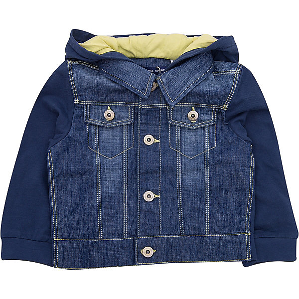 Купить Куртка джинсовая Original Marines для мальчика, Китай, синий, 62/68, 86, 80, 68/74, Мужской