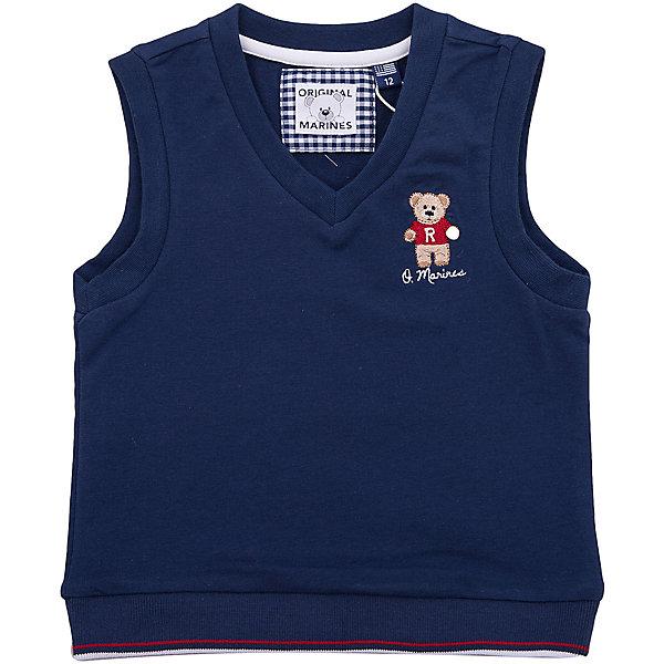 Купить Жилет Original Marines для мальчика, Вьетнам, темно-синий, 80, 68/74, 62/68, 56/62, 86, Мужской