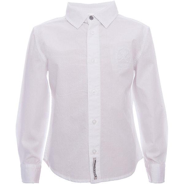 Рубашка Original MarinesБлузки и рубашки<br>Характеристики товара:<br><br>• цвет: белый<br>• состав ткани: 100% хлопок<br>• сезон: круглый год<br>• особенности модели: школьная<br>• застежка: пуговицы<br>• длинные рукава<br>• страна бренда: Италия<br><br>Голубая рубашка для ребенка - классического силуэта. Детская рубашка сделана из чистого хлопка, натурального и приятного на ощупь материала. Рубашка для детей от итальянского бренда Original Marines - качественная вещь, созданная европейскими дизайнерами.<br><br>Рубашку Original Marines (Ориджинал Маринс) можно купить в нашем интернет-магазине.<br>Ширина мм: 186; Глубина мм: 87; Высота мм: 198; Вес г: 197; Цвет: белый; Возраст от месяцев: 48; Возраст до месяцев: 60; Пол: Мужской; Возраст: Детский; Размер: 92/98,152/158,140/146,128/134,116/122,104/110; SKU: 8015359;