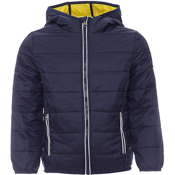 Куртка Original MarinesВерхняя одежда<br>Характеристики товара:<br><br>• цвет: синий<br>• состав ткани: 100% нейлон<br>• подкладка: 100% полиэстер <br>• утеплитель: 100% полиэстер <br>• сезон: демисезон<br>• температурный режим: от +10 до +20<br>• особенности модели: с капюшоном<br>• застежка: молния<br>• страна бренда: Италия<br><br>Практичная детская куртка дополнена удобными карманами. Куртка для ребенка стильно смотрится. Детская ветровка создает комфортные условия в прохладную погоду и удобно сидит по фигуре. <br><br>Куртку Original Marines (Ориджинал Маринс) можно купить в нашем интернет-магазине.<br>Ширина мм: 356; Глубина мм: 10; Высота мм: 245; Вес г: 519; Цвет: темно-синий; Возраст от месяцев: 24; Возраст до месяцев: 36; Пол: Мужской; Возраст: Детский; Размер: 104/110,116/122,92/98,152/158,140/146,128/134; SKU: 8015755;