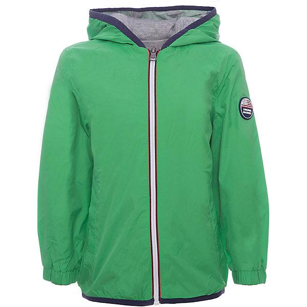 Ветровка Original MarinesВерхняя одежда<br>Характеристики товара:<br><br>• цвет: зеленый<br>• состав ткани: 100% полиамид<br>• подкладка: 65% полиэстер, 35% хлопок<br>• утеплитель: нет<br>• сезон: демисезон<br>• особенности модели: с капюшоном<br>• застежка: молния<br>• страна бренда: Италия<br><br>Легкая детская куртка дополнена капюшоном, помогающим защитить ребенка от дождя и ветра. Ветровка для ребенка стильно смотрится. Детская ветровка создает комфортные условия в прохладную погоду и удобно сидит по фигуре. <br><br>Ветровку Original Marines (Ориджинал Маринс) можно купить в нашем интернет-магазине.<br>Ширина мм: 356; Глубина мм: 10; Высота мм: 245; Вес г: 519; Цвет: зеленый; Возраст от месяцев: 48; Возраст до месяцев: 60; Пол: Мужской; Возраст: Детский; Размер: 104/110,92/98,152/158,140/146,128/134,116/122; SKU: 8015838;