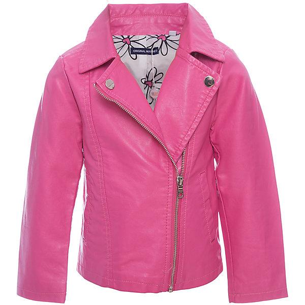 Купить Куртка Original Marines для девочки, Шри-Ланка, розовый, 104/110, 92/98, 152/158, 140/146, 128/134, 116/122, Женский