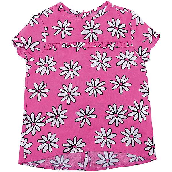 Блузка Original Marines для девочкиБлузки и рубашки<br>Характеристики товара:<br><br>• цвет: розовый<br>• состав ткани: 100% вискоза<br>• сезон: лето<br>• короткие рукава<br>• страна бренда: Италия<br><br>Эта детская блузка сделана из легкого принтованного материала. Блузка для ребенка очень модно смотрится. Детская блузка от бренда Original Marines - комфортная и модная вещь для жаркой погоды. <br><br>Блузку Original Marines (Ориджинал Маринс) для девочки можно купить в нашем интернет-магазине.<br>Ширина мм: 186; Глубина мм: 87; Высота мм: 198; Вес г: 197; Цвет: розовый; Возраст от месяцев: 48; Возраст до месяцев: 60; Пол: Женский; Возраст: Детский; Размер: 104/110,92/98,152/158,140/146,128/134,116/122; SKU: 8016428;