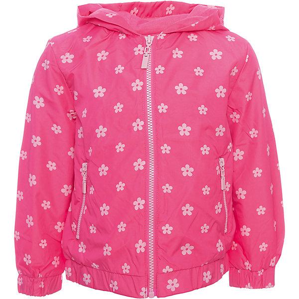 Ветровка Original Marines для девочкиВерхняя одежда<br>Характеристики товара:<br><br>• цвет: розовый<br>• состав ткани: 100% полиэстер<br>• подкладка: 65% полиэстер, 35% хлопок<br>• утеплитель: 100% полиэстер<br>• сезон: демисезон<br>• температурный режим: от +10 до +20<br>• особенности модели: с капюшоном<br>• застежка: молния<br>• страна бренда: Италия<br><br>Стильная детская куртка на молнии сделана из легкого качественного материала. Куртка для ребенка модно смотрится. Детская ветровка создает комфортные условия в прохладную погоду и удобно сидит по фигуре. <br><br>Ветровку Original Marines (Ориджинал Маринс) для девочки можно купить в нашем интернет-магазине.<br>Ширина мм: 356; Глубина мм: 10; Высота мм: 245; Вес г: 519; Цвет: розовый; Возраст от месяцев: 72; Возраст до месяцев: 84; Пол: Женский; Возраст: Детский; Размер: 116/122,92/98,152/158,140/146,128/134,104/110; SKU: 8016682;