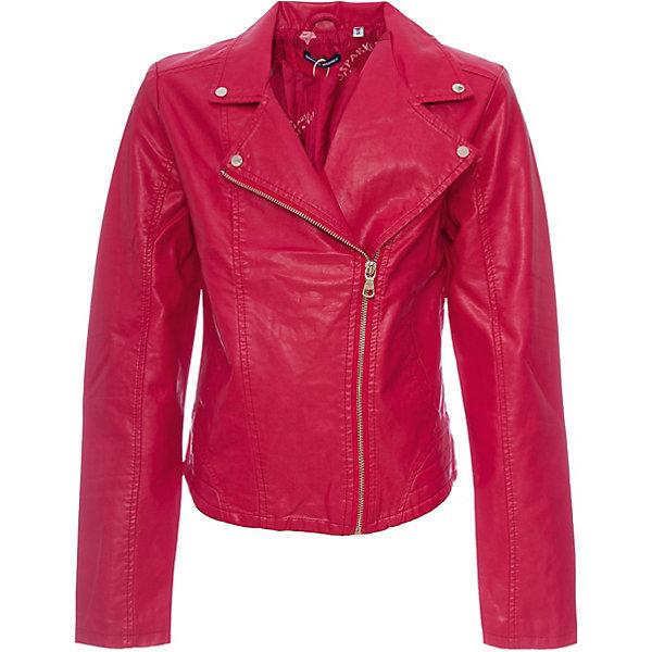 Купить Куртка Original Marines для девочки, Бангладеш, красный, 152, 176, 164, Женский