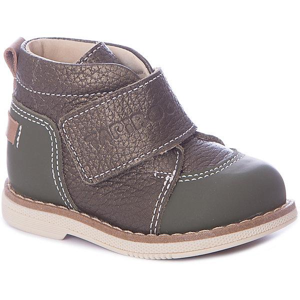 Купить Ботинки Tapiboo для мальчика, Россия, зеленый, 19, 22, 21, 20, Мужской