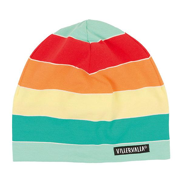 Шапка VillervallaГоловные уборы<br>Характеристики товара:<br><br>• цвет: коричневый<br>• состав ткани: 95% хлопок, 5 % эластан<br>• сезон: демисезон<br>• страна бренда: Дания<br><br>Модная шапка для детей разработана специалистами шведского бренда Villervalla, который выпускает стильную и удобную одежду. Эта шапка для ребенка сделана из дышащего хлопкового материала, который обеспечивает ребенку комфорт. Детская шапка отлично подходит для прохладной погоды межсезонья. <br><br>Шапку Villervalla (Виллервалла) можно купить в нашем интернет-магазине.<br>Ширина мм: 89; Глубина мм: 117; Высота мм: 44; Вес г: 155; Цвет: красный/оранжевый; Возраст от месяцев: 12; Возраст до месяцев: 18; Пол: Унисекс; Возраст: Детский; Размер: 46-48,52-54,50-52,48-50; SKU: 8028810;