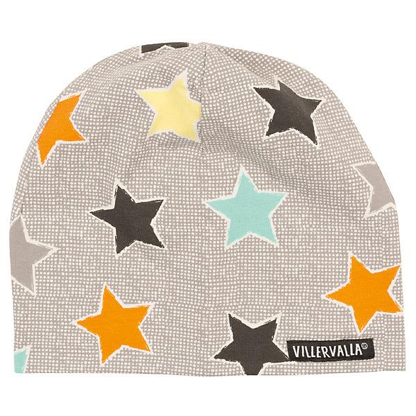 Шапка Villervalla для мальчикаГоловные уборы<br>Характеристики товара:<br><br>• цвет: серый<br>• состав ткани: 95% хлопок, 5 % эластан<br>• сезон: демисезон<br>• страна бренда: Дания<br><br>Практичная шапка для ребенка сделана из эластичного материала с преобладанием дышащего гипоаллергенного хлопка в составе. Детская шапка хорошо сочетается с верхней одеждой различных расцветок и стилей. Такая шапка для детей создана дизайнерами известного бренда Villervalla из Швеции. <br><br>Шапку Villervalla (Виллервалла) для мальчика можно купить в нашем интернет-магазине.<br>Ширина мм: 89; Глубина мм: 117; Высота мм: 44; Вес г: 155; Цвет: серый; Возраст от месяцев: 12; Возраст до месяцев: 18; Пол: Мужской; Возраст: Детский; Размер: 46-48,52-54,50-52,48-50; SKU: 8028839;