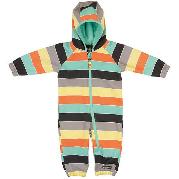 Комбинезон Soft Shell Villervalla для мальчикаВерхняя одежда<br>Характеристики товара:<br><br>• цвет: серый<br>• состав ткани: 95% полиэстер, 5%эластан<br>• утеплитель: нет<br>• сезон: демисезон<br>• особенности модели: с капюшоном<br>• застежка: молния<br>• длинные рукава<br>• страна бренда: Швеция<br><br>Удобный комбинезон для ребенка - это качественная и модная вещь от популярного шведского бренда Villervalla. Детский комбинезон создан с применением технологии Soft Shell для прохладной сырой погоды межсезонья. Такой детский комбинезон отличается хорошо проработанными деталями: удобным капюшоном и молнией.<br><br>Комбинезон Soft Shell Villervalla (Виллервалла) для мальчика можно купить в нашем интернет-магазине.<br>Ширина мм: 356; Глубина мм: 10; Высота мм: 245; Вес г: 519; Цвет: серый/оранжевый; Возраст от месяцев: 12; Возраст до месяцев: 15; Пол: Мужской; Возраст: Детский; Размер: 80,92; SKU: 8028930;