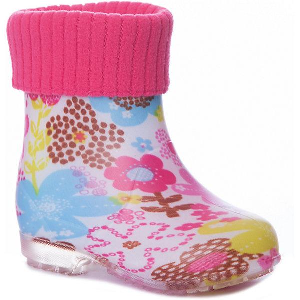 Резиновые сапоги Kapika для девочкиРезиновые сапоги<br>Характеристики товара:<br><br>• цвет: розовый/принт;<br>• внешний материал: ПВХ;<br>• внутренний материал: утепленный текстиль (хлопок 80%) ;<br>• подошва: ПВХ;<br>• сезон: демисезон;<br>• съемный валеночек;<br>• особенности модели: непромокаемые, с утеплителем;<br>• гибкая амортизирующая нескользящая подошва;<br>• тип застежки: без застежки;<br>• торговая марка: Капика, Россия;<br><br>Утепленные резиновые сапоги Kapika для девочки выполнены из качественных материалов с утеплителем на основе мягкого хлопка.  Ноги ребенка всегда останутся сухими и теплыми. Сапожки очень легкие. КВнутри сапожка утепленная подкладка, которая вынимается.<br>Сапожки можно носить как с вложенным валеночком, так и без него. Рельефная подошва предотвращает скольжение. Яркие, оригинальные резиновые сапожки для детей.<br><br>Утепленные резиновые сапоги Kapika для девочки - отличный вариант для прогулок в дождливую прохладную погоду. Резиновые сапоги Kapika очень легко отмываются от грязи прямо под струей воды.<br><br>Утепленные резиновые сапоги Kapika (Капика) для девочки можно купить в нашем интернет-магазине.<br>Ширина мм: 237; Глубина мм: 180; Высота мм: 152; Вес г: 438; Цвет: розовый; Возраст от месяцев: 18; Возраст до месяцев: 21; Пол: Женский; Возраст: Детский; Размер: 23,27,26,25,24; SKU: 8030116;