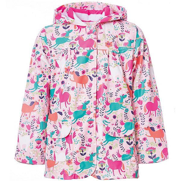 Купить Плащ Hatley для девочки, Китай, розовый, 92, 122, 116, 110, 104, 98, Женский