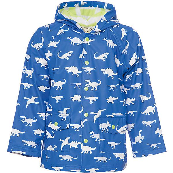 Плащ Hatley для мальчикаВерхняя одежда<br>Характеристики товара:<br><br>• цвет: голубой<br>• при намокании меняет цвет<br>• состав ткани: 100% полиуретан<br>• подкладка: 100% полиэстер<br>• утеплитель: нет <br>• сезон: демисезон<br>• температурный режим: от +10 до +20<br>• особенности модели: с капюшоном<br>• застежка: кнопки<br>• страна бренда: Канада<br><br>Этот оригинальный детский плащ от Hatley имеет свободный удлиненный силуэт и застежки-кнопки. Плащ для ребенка дополнен приятной на ощупь махровой подкладкой. Такой плащ для детей надежно защитит от сырости и ветра благодаря удобному капюшону и плотному материалу. <br><br>К тому же, при намокании Динозаврики меняют цвет!<br><br>Плащ Hatley (Хатли) для мальчика можно купить в нашем интернет-магазине.<br>Ширина мм: 356; Глубина мм: 10; Высота мм: 245; Вес г: 519; Цвет: голубой; Возраст от месяцев: 18; Возраст до месяцев: 24; Пол: Мужской; Возраст: Детский; Размер: 92,122,116,110,104,98; SKU: 8036485;