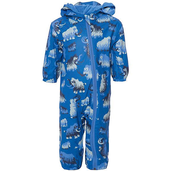Комбинезон Hatley для мальчикаВерхняя одежда<br>Характеристики товара:<br><br>• цвет: синий<br>• состав ткани: 100% полиуретан<br>• подкладка: 100% полиэстер<br>• утеплитель: нет <br>• сезон: демисезон<br>• температурный режим: от +10 до +20<br>• особенности модели: с капюшоном<br>• застежка: молния<br>• длинные рукава<br>• штрипки<br>• страна бренда: Канада<br><br>Удобный комбинезон для детей от бренда Hatleyиз Канады сделан из непромокаемого материала. Оригинальный детский комбинезон отличается отлично проработанными деталями: длинной молнией с защитой подбородка от защемления, штрипками, капюшоном, мягкой махровой подкладкой. Комбинезон для ребенка отлично подходит для прохладной сырой погоды. <br><br>Комбинезон Hatley (Хатли) для мальчика можно купить в нашем интернет-магазине.<br>Ширина мм: 356; Глубина мм: 10; Высота мм: 245; Вес г: 519; Цвет: синий; Возраст от месяцев: 12; Возраст до месяцев: 15; Пол: Мужской; Возраст: Детский; Размер: 74/80,86/92; SKU: 8036529;