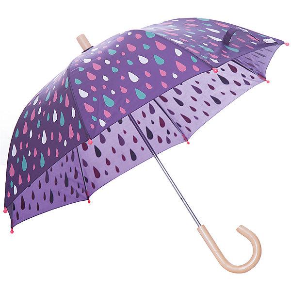 Зонт Hatley для девочкиАксессуары<br>Характеристики товара:<br><br>• цвет: фиолетовый<br>• материал: полиэстер, сталь, дерево<br>• особенности модели: механический<br>• сезон: демисезон<br>• страна бренда: Канада<br><br>Такой зонт для ребенка был разработан специалистами канадского бренда Hatley исходя из особенностей и потребностей детей. Этот зонт-трость для детей легко раскладывается - он снабжен удобным механизмом. Детский зонт стильно смотрится благодаря яркому принту, который нравится детям. <br><br>Зонт Hatley (Хатли) для девочки можно купить в нашем интернет-магазине.<br>Ширина мм: 170; Глубина мм: 157; Высота мм: 67; Вес г: 117; Цвет: фиолетовый; Возраст от месяцев: 36; Возраст до месяцев: 1188; Пол: Женский; Возраст: Детский; Размер: one size; SKU: 8036556;