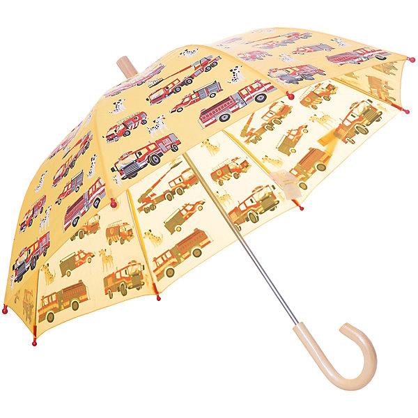 Зонт Hatley для мальчикаАксессуары<br>Характеристики товара:<br><br>• цвет: желтый<br>• материал: полиэстер, сталь, дерево<br>• особенности модели: механический<br>• сезон: демисезон<br>• страна бренда: Канада<br><br>Яркий зонт-трость для детей позволит не только защититься от дождя, он станет стильным «взрослым» аксессуаром. Детский зонт декорирован оригинальным принтом. Удобным этот зонт для ребенка от известного канадского бренда Hatley делает легкий механизм раскладывания и небольшая деревянная ручка. <br><br>Зонт Hatley (Хатли) для мальчика можно купить в нашем интернет-магазине.<br>Ширина мм: 170; Глубина мм: 157; Высота мм: 67; Вес г: 117; Цвет: желтый; Возраст от месяцев: 36; Возраст до месяцев: 1188; Пол: Мужской; Возраст: Детский; Размер: one size; SKU: 8036560;