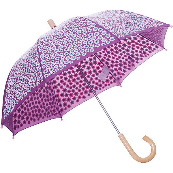 Зонт Hatley для девочкиАксессуары<br>Характеристики товара:<br><br>• цвет: сиреневый<br>• материал: полиэстер, сталь, дерево<br>• особенности модели: механический<br>• сезон: демисезон<br>• страна бренда: Канада<br><br>Качественный детский зонт декорирован оригинальным принтом. Удобным этот зонт для ребенка от известного канадского бренда Hatley делает легкий механизм раскладывания и небольшая деревянная ручка. Такой зонт-трость для детей позволит не только защититься от дождя, он станет стильным «взрослым» аксессуаром. <br><br>Зонт Hatley (Хатли) для девочки можно купить в нашем интернет-магазине.<br>Ширина мм: 170; Глубина мм: 157; Высота мм: 67; Вес г: 117; Цвет: сиреневый; Возраст от месяцев: 36; Возраст до месяцев: 1188; Пол: Женский; Возраст: Детский; Размер: one size; SKU: 8036566;