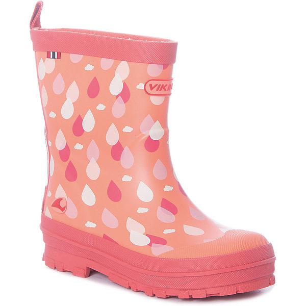 Купить Резиновые сапоги DRAPE Viking для девочки, Китай, оранжевый, 26, 21, 25, 24, 23, 22, Женский