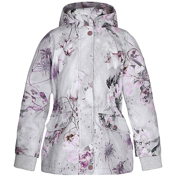 Купить Куртка Molo для девочки, Китай, серый, 98, 152, 146, 140, 134, 128, 122, 116, 110, 104, Женский