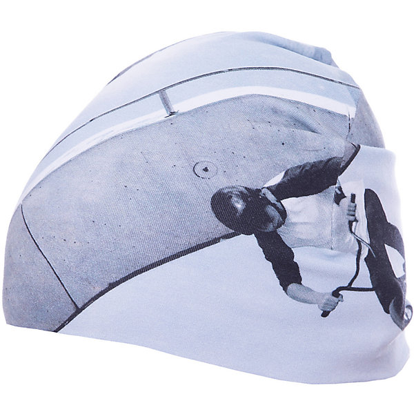 Шапка Molo для мальчикаГоловные уборы<br>Характеристики товара:<br><br>• цвет: серый/принт;<br>• состав: 100% хлопок; <br>• температурный режим: от +10 градусов и выше;<br>• сезон: демисезон;<br>• эластичный материал;<br>• цветочный принт;<br>• страна бренда: Дания.<br><br>Детская шапка от датского бренда Molo выполнена из мягкого 100% хлопка. Ткань идеально прилегает к голове, хорошо тянется, не сдавливает и не сковывает движений. Модель выполнена в локоночном сером цвете с красивым цветочным принтом. Модель будет удачно гармонировать с любыми предметами гардероба.<br><br>Бренд Molo создает коллекции стильной и качественной одежды для мальчиков и девочек. Эта марка выбрала для себя городской стиль, смесь веселья и остроумных деталей. <br><br>Шапку Molo для мальчика можно купить в нашем интернет-магазине.<br>Ширина мм: 89; Глубина мм: 117; Высота мм: 44; Вес г: 155; Цвет: голубой; Возраст от месяцев: 12; Возраст до месяцев: 24; Пол: Мужской; Возраст: Детский; Размер: 48-50,54-56,50-52; SKU: 8037960;