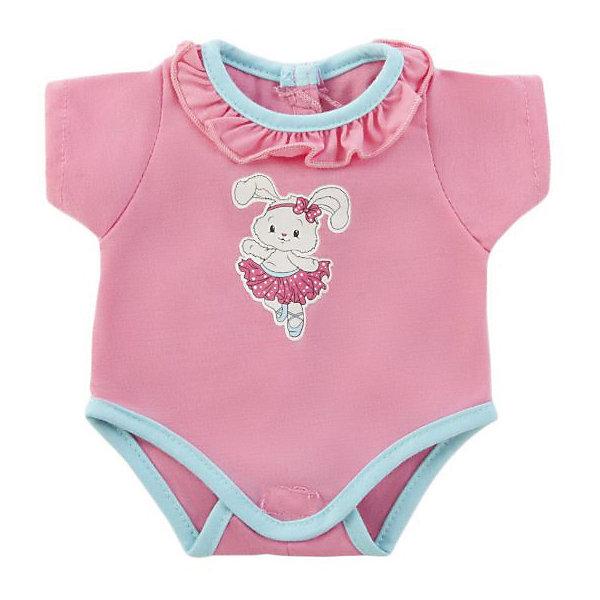 Одежда для куклы Mary Poppins Боди , 38-43смОдежда для кукол<br>Куклы тоже любят менять наряды! И для них создается стильная и модная одежда, похожая на одежду для настоящих малышей. Это боди из эксклюзивной коллекции Зайка ТМ Mary Poppins, подойдет кукле с ростом 38-43 см. Боди можно стирать в стиральной машине при температуре 30 ?С.<br>Ширина мм: 220; Глубина мм: 10; Высота мм: 330; Вес г: 100; Возраст от месяцев: 36; Возраст до месяцев: 2147483647; Пол: Мужской; Возраст: Детский; SKU: 8042772;
