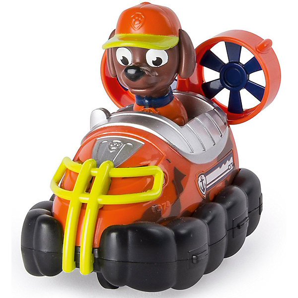 Купить Маленькая машинка спасателя Зума в кепке, Щенячий патруль, Spin Master, Китай, Женский