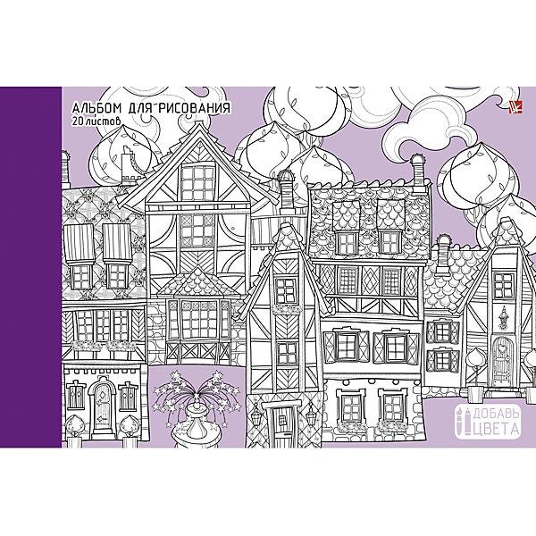 Альбом для рисования Канц-Эксмо Городские улочки, 20 листовБумажная продукция<br>Характеристики:<br><br>? плотная бумага;<br>? красочный дизайн;<br>? формат: А4;<br>? количество листов: 20;<br>? размер: 4х22х29 см.<br><br>Альбом для рисования Городские улочки от Канц-Эксмо. Мелованный картон позволяет сохранять аккуратный внешний вид на протяжении длительного времени. <br><br>Благодаря специальной отделки обложку альбома можно раскрасить фломастерами, гелиевыми ручками, цветными карандашами. В самом альбоме так же можно рисовать карандашами, фломастерами, тушью и красками.<br><br>Канц-Эксмо Альбом для рисования 20 л. Склейка. «Городские улочки» можно купить в нашем интернет магазине.<br>Ширина мм: 290; Глубина мм: 220; Высота мм: 4; Вес г: 149; Цвет: разноцветный; Возраст от месяцев: 72; Возраст до месяцев: 2147483647; Пол: Унисекс; Возраст: Детский; SKU: 8074848;