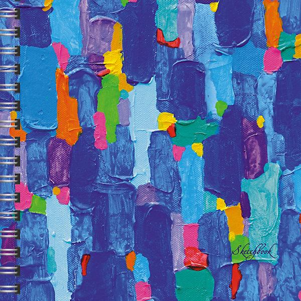 Скетчбук Канц-Эксмо Лазурная палитра, 80 листовХудожественная бумага<br>Характеристики<br><br>• количество в наборе: 80 листов без линовки;<br>• формат: А5;<br>• плотность бумаги: 100 гр./кв.м.;<br>• внутренний блок: офсетная бумага;<br>• обложка: лазурная палитра;<br>• размер: 20,5х19,5х1,6;<br>• вес: 407 гр.<br><br>В скетчпадах «Канц-Эксмо» внутренний блок состоит из бумаги плотностью 100г/м2, которая идеально подходит для ежедневных зарисовок самыми разными письменными и художественными принадлежностями. <br><br>Новый формат скетчбуков А5 с евроспиралью сверху станет легким и удобным спутником для обладателей творческих талантов.<br><br>Канц-Эксмо Скетчбук 195х195, 80л, без линовки, бумага офсетная 100г/м2. «Лазурная палитра» можно купить в нашем интернет-магазине.<br>Ширина мм: 205; Глубина мм: 195; Высота мм: 16; Вес г: 407; Цвет: разноцветный; Возраст от месяцев: 72; Возраст до месяцев: 2147483647; Пол: Унисекс; Возраст: Детский; SKU: 8074858;